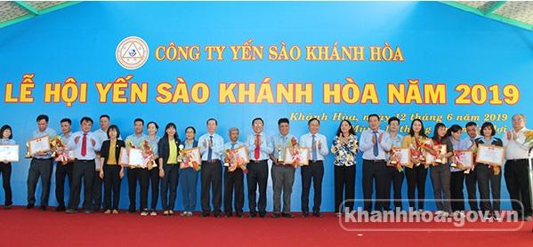 Lễ hội Yến sào Khánh Hòa năm 2019
