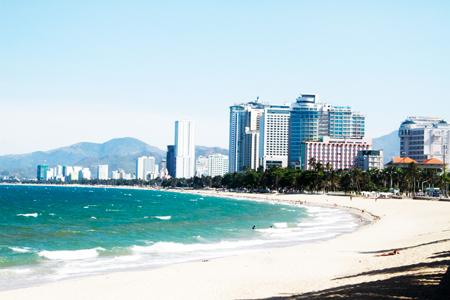 Bờ biển Nha Trang sẽ được quy hoạch phát triển theo định hướng lâu dài