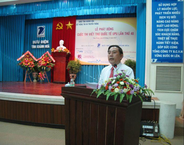 Phát động Cuộc thi viết thư quốc tế UPU lần thứ 40 tại tỉnh Khánh Hòa