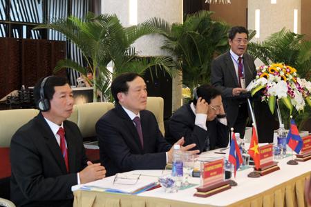 Ông Lê Thanh Quang phát biểu tại hội nghị.