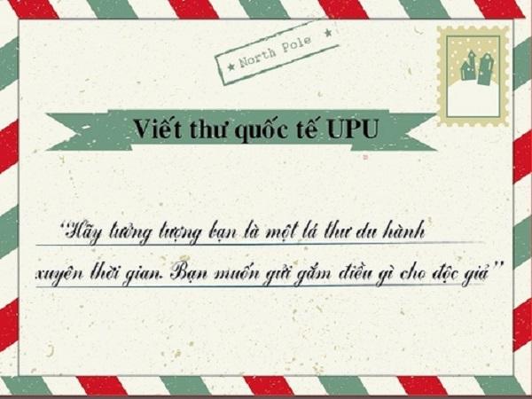 Khánh Hòa có 1 học sinh đạt giải Cuộc thi viết thư quốc tế UPU lần thứ 47  (07/05/2018)